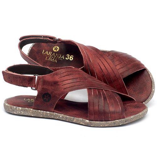 Laranja_Lima_Shoes_Sapatos_Femininos_Sandalia_Rasteira_Flat_em_Couro_Vermelho_-_Codigo_-_137311_1