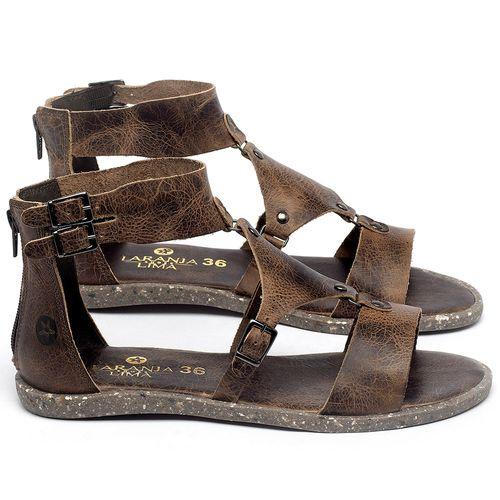 Laranja_Lima_Shoes_Sapatos_Femininos_Sandalia_Rasteira_Flat_em_Couro_Marrom_-_Codigo_-_137316_1