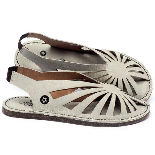Laranja_Lima_Shoes_Sapatos_Femininos_Sandalia_Rasteira_Flat_em_Couro_Off-White_-_Codigo_-_141152_1