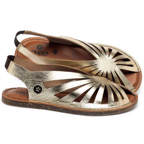 Laranja_Lima_Shoes_Sapatos_Femininos_Sandalia_Rasteira_Flat_em_Couro_Metalizado_-_Codigo_-_141152_1