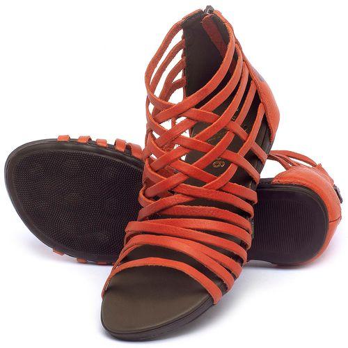 Laranja_Lima_Shoes_Sapatos_Femininos_Sandalia_Rasteira_Flat_em_Couro_Vermelho_-_Codigo_-_137188_2