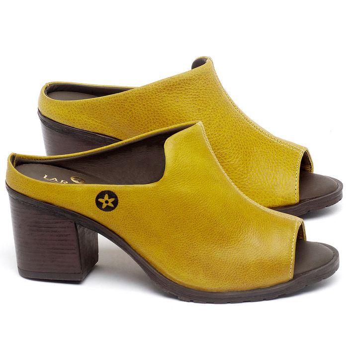 Laranja_Lima_Shoes_Sapatos_Femininos_Sandalia_Laranja_Lima_Shoes_Boho_Salto_de_6_cm_em_Couro_Amarelo_-_Codigo_-_137274_1