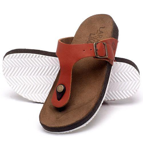 Laranja_Lima_Shoes_Sapatos_Femininos_Sandalia_Rasteira_Flat_em_Couro_Laranja_-_Codigo_-_148033_2