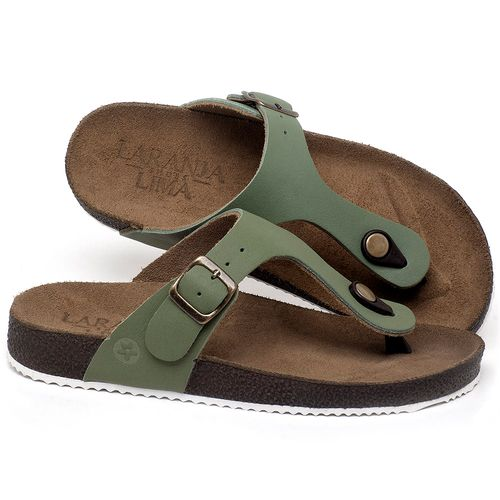 Laranja_Lima_Shoes_Sapatos_Femininos_Sandalia_Rasteira_Flat_em_Couro_Verde_-_Codigo_-_148033_1
