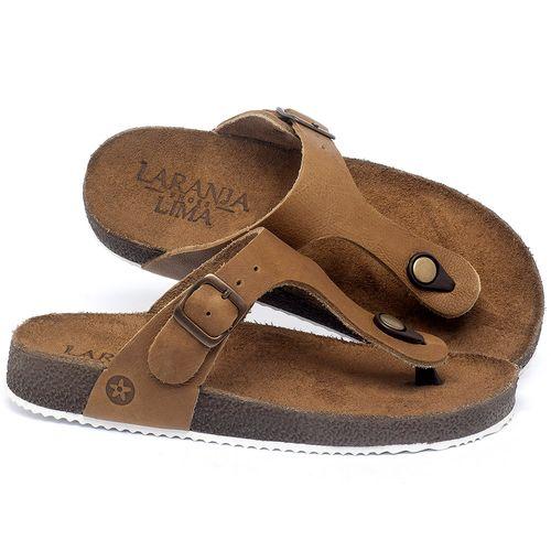Laranja_Lima_Shoes_Sapatos_Femininos_Sandalia_Rasteira_Flat_em_Couro_Caramelo_-_Codigo_-_148033_1
