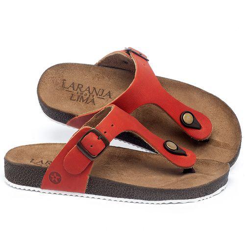 Laranja_Lima_Shoes_Sapatos_Femininos_Sandalia_Rasteira_Flat_em_Couro_Vermelho_-_Codigo_-_148033_1