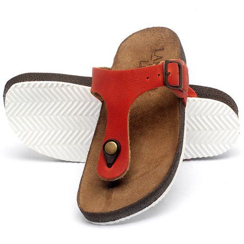 Laranja_Lima_Shoes_Sapatos_Femininos_Sandalia_Rasteira_Flat_em_Couro_Vermelho_-_Codigo_-_148033_2