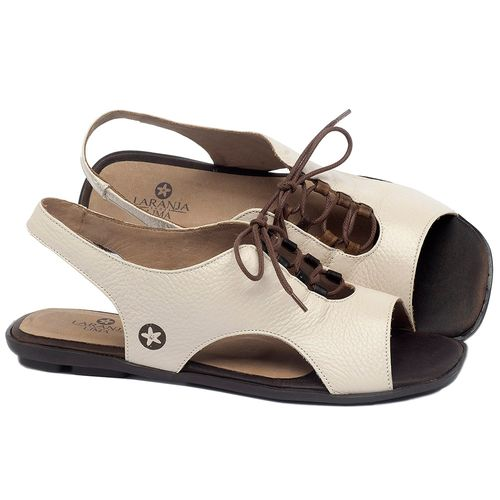 Laranja_Lima_Shoes_Sapatos_Femininos_Sandalia_Rasteira_Flat_em_Couro_Off-White_-_Codigo_-_9481_1