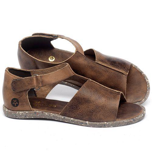 Laranja_Lima_Shoes_Sapatos_Femininos_Sandalia_Rasteira_Flat_em_Couro_Marrom_-_Codigo_-_137310_1