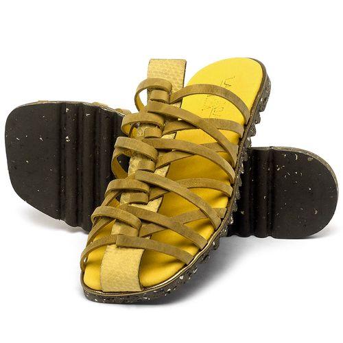 Laranja_Lima_Shoes_Sapatos_Femininos_Sandalia_Rasteira_Flat_em_Couro_Amarelo_-_Codigo_-_145053_2