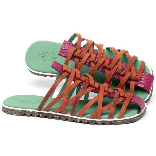 Laranja_Lima_Shoes_Sapatos_Femininos_Sandalia_Rasteira_Flat_em_Couro_Colorido_-_Codigo_-_145053_1