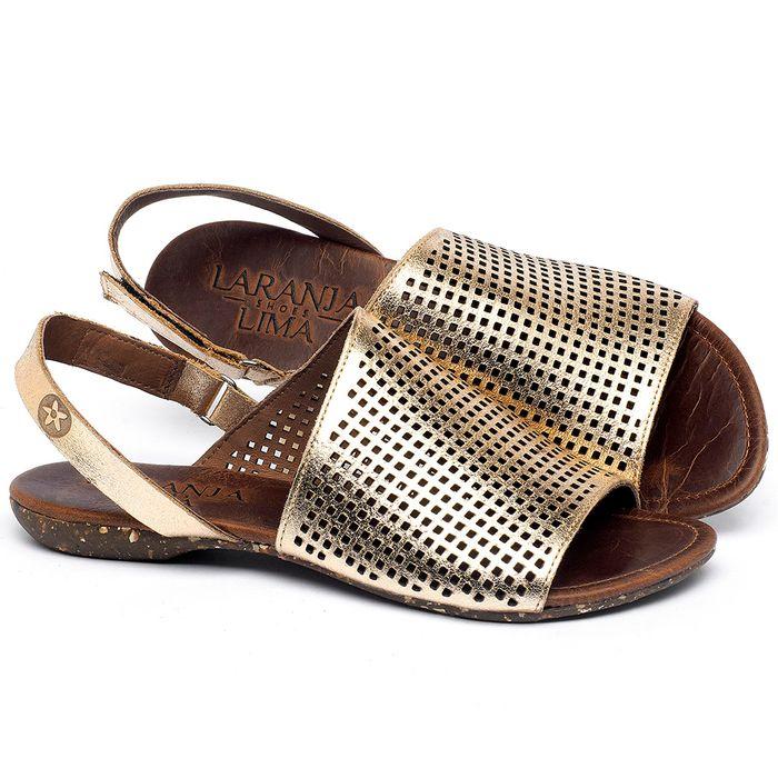 Laranja_Lima_Shoes_Sapatos_Femininos_Sandalia_Rasteira_Flat_em_Couro_Metalizado_-_Codigo_-_148031_1