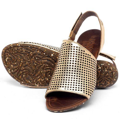 Laranja_Lima_Shoes_Sapatos_Femininos_Sandalia_Rasteira_Flat_em_Couro_Metalizado_-_Codigo_-_148031_2