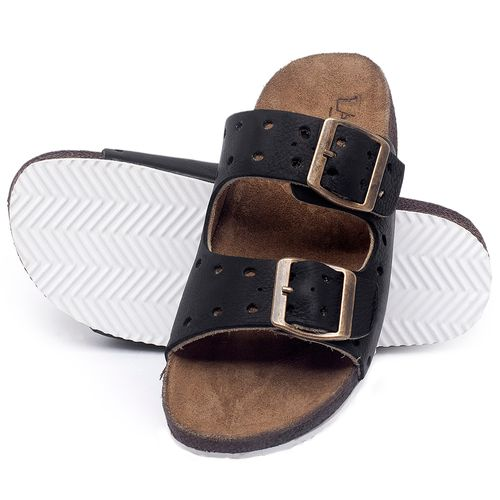Laranja_Lima_Shoes_Sapatos_Femininos_Sandalia_Rasteira_Flat_em_Couro_Preto_-_Codigo_-_148032_2
