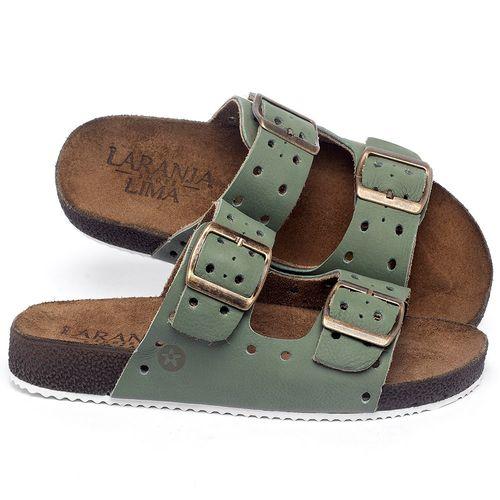 Laranja_Lima_Shoes_Sapatos_Femininos_Sandalia_Rasteira_Flat_em_Couro_Verde_-_Codigo_-_148032_1