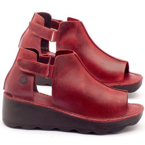Laranja_Lima_Shoes_Sapatos_Femininos_Ana_Bela_Tratorada_Salto_de_Frente_2_cm_e_Atras_5_cm_em_Couro_Vermelho_-_Codigo_-_141007_1