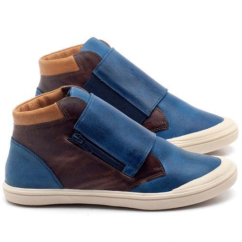 Laranja_Lima_Shoes_Sapatos_Femininos_Tenis_Cano_Alto_em_Couro_Azul_-_Codigo_-_56090_1