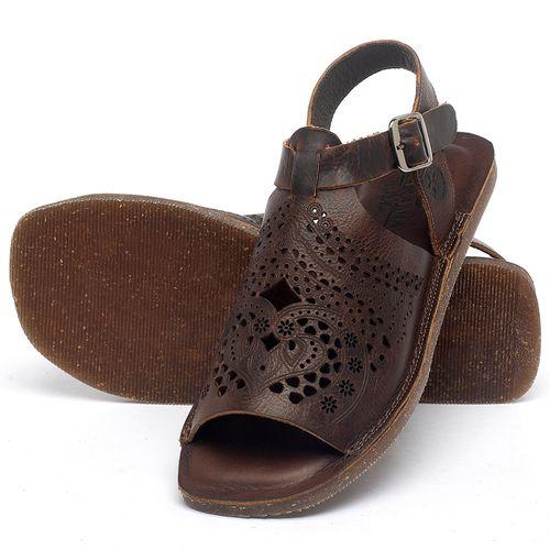 Laranja_Lima_Shoes_Sapatos_Femininos_Sandalia_Rasteira_Flat_em_Couro_Marrom_-_Codigo_-_141022_2
