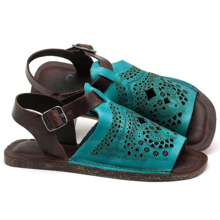 Laranja_Lima_Shoes_Sapatos_Femininos_Sandalia_Rasteira_Flat_em_Couro_Azul_-_Codigo_-_141022_1
