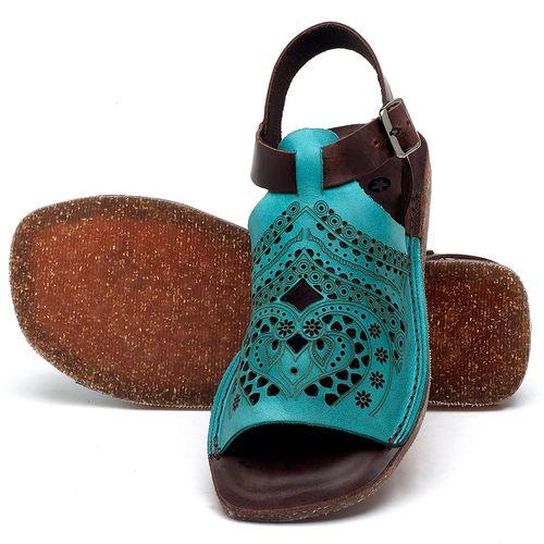 Laranja_Lima_Shoes_Sapatos_Femininos_Sandalia_Rasteira_Flat_em_Couro_Azul_-_Codigo_-_141022_2