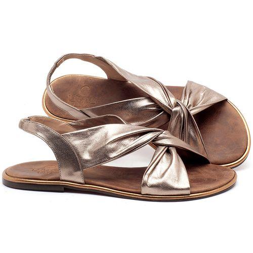 Laranja_Lima_Shoes_Sapatos_Femininos_Sandalia_Rasteira_Flat_em_Couro_Metalizado_-_Codigo_-_3654_1