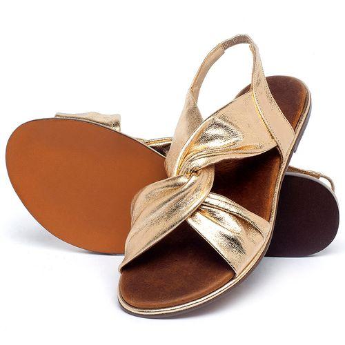 Laranja_Lima_Shoes_Sapatos_Femininos_Sandalia_Rasteira_Flat_em_Couro_Metalizado_-_Codigo_-_3654_2