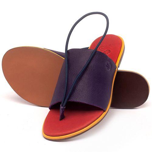 Laranja_Lima_Shoes_Sapatos_Femininos_Sandalia_Rasteira_Flat_em_Couro_Colorido_-_Codigo_-_3657_2