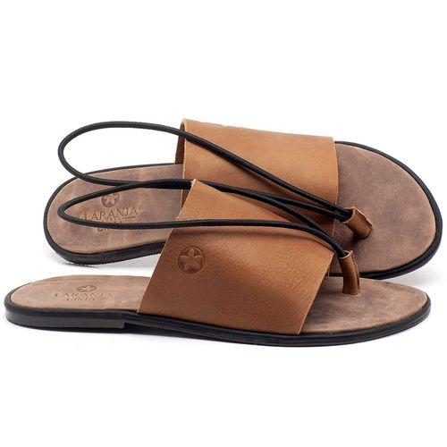 Laranja_Lima_Shoes_Sapatos_Femininos_Sandalia_Rasteira_Flat_em_Couro_Caramelo_-_Codigo_-_3657_1