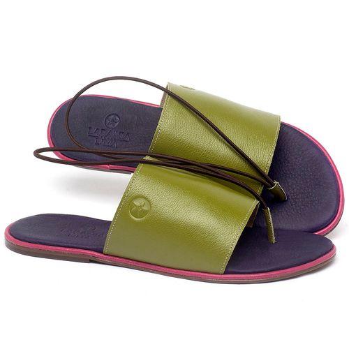 Laranja_Lima_Shoes_Sapatos_Femininos_Sandalia_Rasteira_Flat_em_Couro_Colorido_-_Codigo_-_3657_1