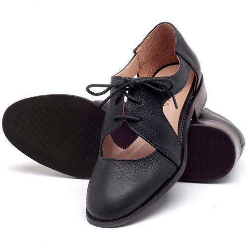 Laranja_Lima_Shoes_Sapatos_Femininos_Oxford_Laranja_Lima_Shoes_Salto_de_2_cm_em_Couro_Preto_-_Codigo_-_9411_2
