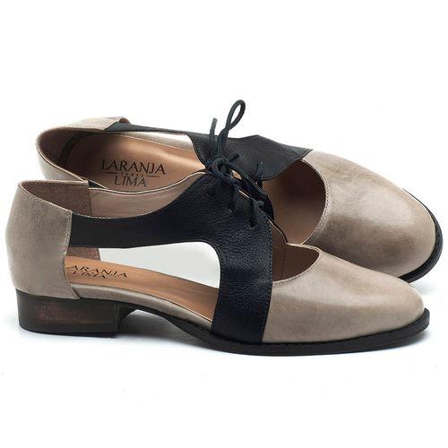 Laranja_Lima_Shoes_Sapatos_Femininos_Oxford_Laranja_Lima_Shoes_Salto_de_2_cm_em_Couro_Off-White_-_Codigo_-_9411_1