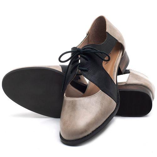 Laranja_Lima_Shoes_Sapatos_Femininos_Oxford_Laranja_Lima_Shoes_Salto_de_2_cm_em_Couro_Off-White_-_Codigo_-_9411_2