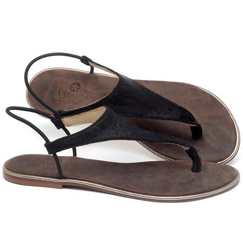 Laranja_Lima_Shoes_Sapatos_Femininos_Sandalia_Rasteira_Flat_em_Couro_Preto_-_Codigo_-_3720_1
