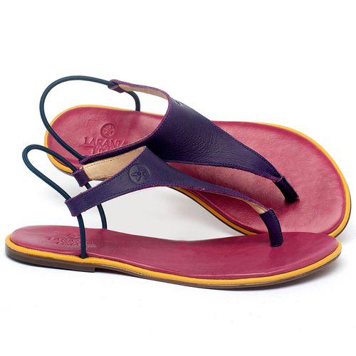 Laranja_Lima_Shoes_Sapatos_Femininos_Sandalia_Rasteira_Flat_em_Couro_Roxo_-_Codigo_-_3720_1