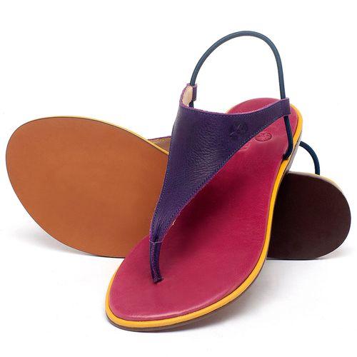 Laranja_Lima_Shoes_Sapatos_Femininos_Sandalia_Rasteira_Flat_em_Couro_Roxo_-_Codigo_-_3720_2