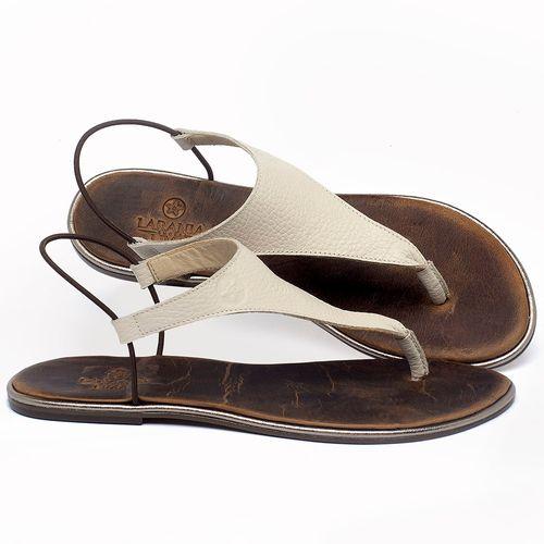Laranja_Lima_Shoes_Sapatos_Femininos_Sandalia_Rasteira_Flat_em_Couro_Off-White_-_Codigo_-_3720_1