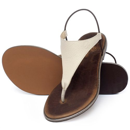 Laranja_Lima_Shoes_Sapatos_Femininos_Sandalia_Rasteira_Flat_em_Couro_Off-White_-_Codigo_-_3720_2