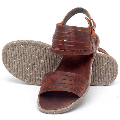 Laranja_Lima_Shoes_Sapatos_Femininos_Sandalia_Rasteira_Flat_em_Couro_Laranja_-_Codigo_-_137309_2