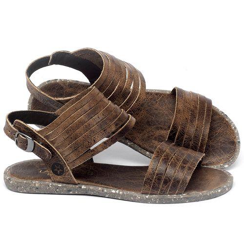 Laranja_Lima_Shoes_Sapatos_Femininos_Sandalia_Rasteira_Flat_em_Couro_Marrom_-_Codigo_-_137309_1