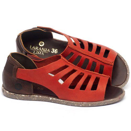 Laranja_Lima_Shoes_Sapatos_Femininos_Sandalia_Rasteira_Flat_em_Couro_Vermelho_-_Codigo_-_137313_1