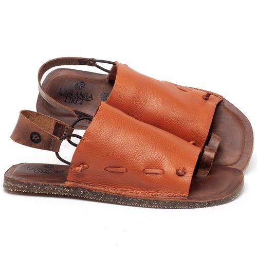 Laranja_Lima_Shoes_Sapatos_Femininos_Sandalia_Rasteira_Flat_em_Couro_Laranja_-_Codigo_-_141154_1