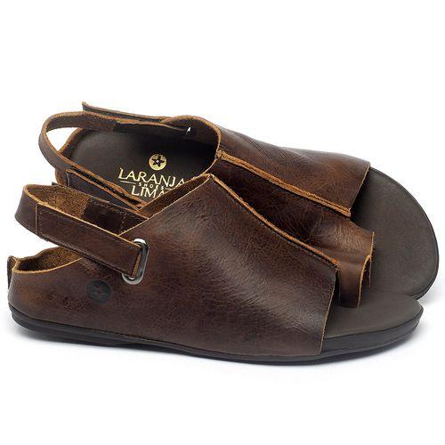 Laranja_Lima_Shoes_Sapatos_Femininos_Sandalia_Rasteira_Flat_em_Couro_Marrom_-_Codigo_-_137305_1