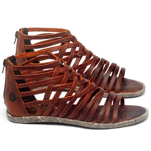 Laranja_Lima_Shoes_Sapatos_Femininos_Sandalia_Rasteira_Flat_em_Couro_Laranja_-_Codigo_-_137307_1