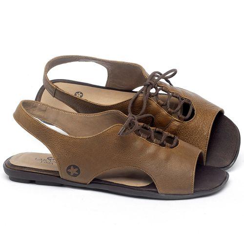 Laranja_Lima_Shoes_Sapatos_Femininos_Sandalia_Rasteira_Flat_em_Couro_Caramelo_-_Codigo_-_9481_1
