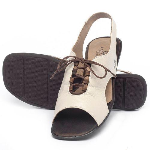 Laranja_Lima_Shoes_Sapatos_Femininos_Sandalia_Rasteira_Flat_em_Couro_Off-White_-_Codigo_-_9481_2