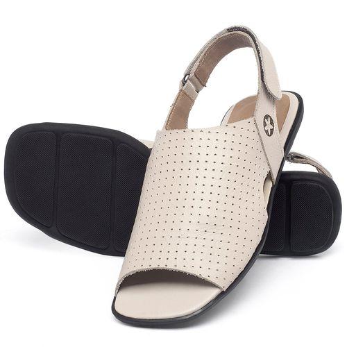 Laranja_Lima_Shoes_Sapatos_Femininos_Sandalia_Rasteira_Flat_em_Couro_Off-White_-_Codigo_-_9482_2