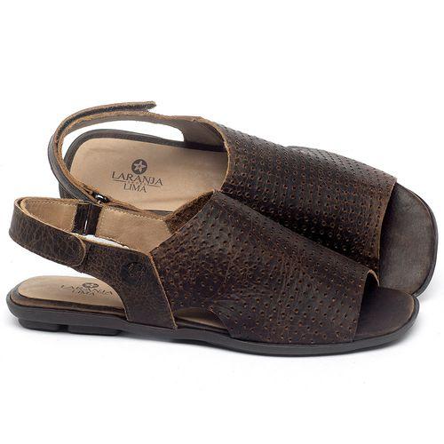 Laranja_Lima_Shoes_Sapatos_Femininos_Sandalia_Rasteira_Flat_em_Couro_Marrom_-_Codigo_-_9482_1