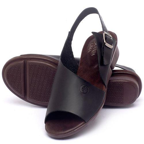 Laranja_Lima_Shoes_Sapatos_Femininos_Sandalia_Rasteira_Flat_em_Couro_Preto_-_Codigo_-_136097_2