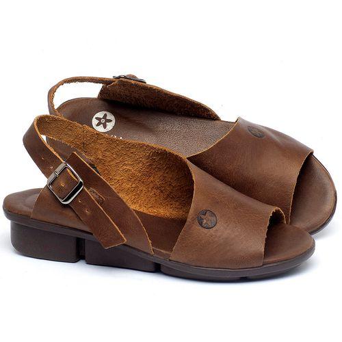 Laranja_Lima_Shoes_Sapatos_Femininos_Sandalia_Rasteira_Flat_em_Couro_Caramelo_-_Codigo_-_136097_1