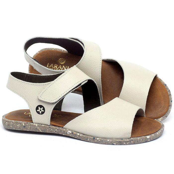 Laranja_Lima_Shoes_Sapatos_Femininos_Sandalia_Rasteira_Flat_em_Couro_Off-White_-_Codigo_-_137308_1